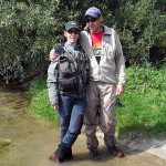 Spending honey-moon on fly fishing tour!
