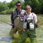 Taking a girlfriend on a fly fishing tour