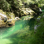 Hidden spots on the Sava Bohinjka river