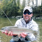 Rainbow trout Sava river
