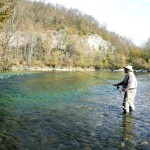 Targeting some Grayling - Sava Bohinjka