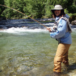 Ladies in fly fishing - welcome!