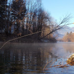 Quiet morning Bled Trophy area