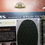 Wading boots stud centre